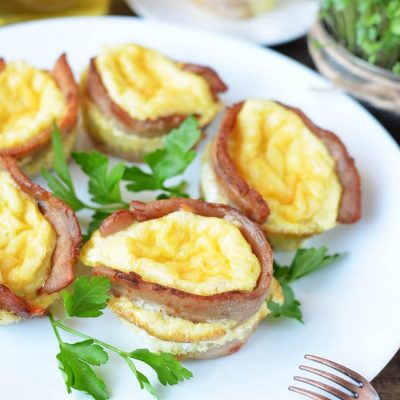 Bacon Breakfast Bowls-Bacon and Egg Muffins-Bacon Breakfast Bowls Recipe