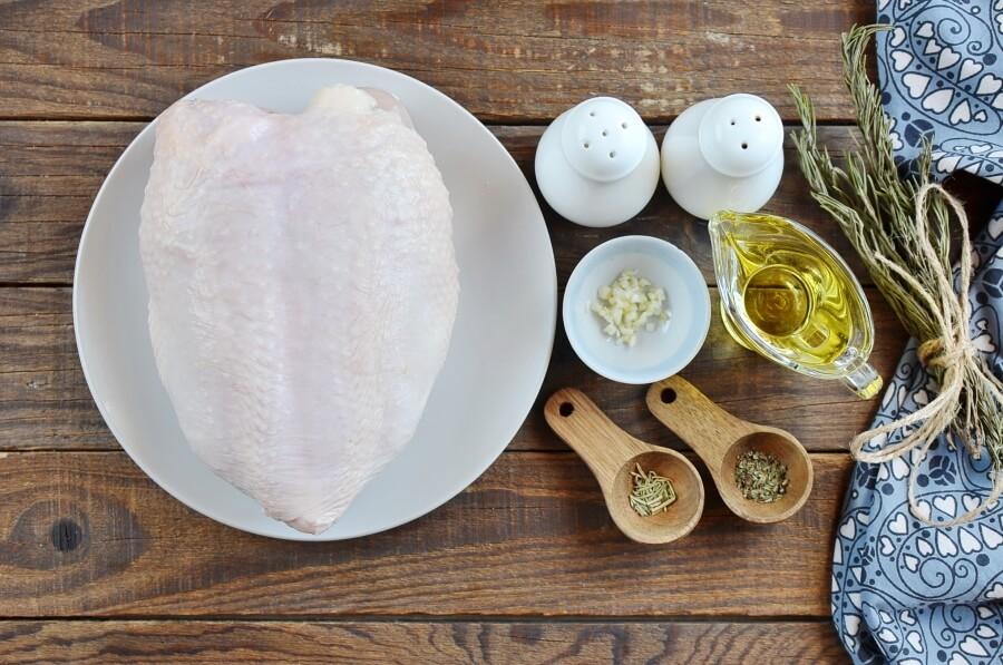 Ingridiens for Keto Baked Split Chicken Breast