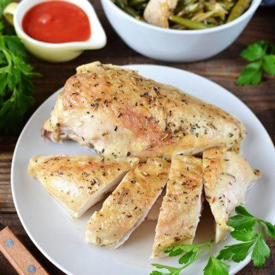 Baked Split Chicken Breast-Juicy Oven Baked Chicken Breasts-Baked Split Chicken Breast Recipe