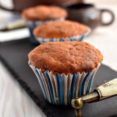 Banana Muffins recipe-How to make Banana Muffins-Homemade Banana Muffins