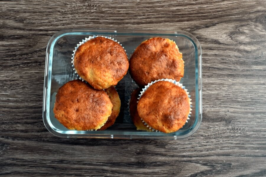 How to serve Easy Banana Muffins
