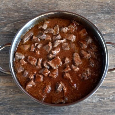 Low Carb Beef Paprika recipe - step 3
