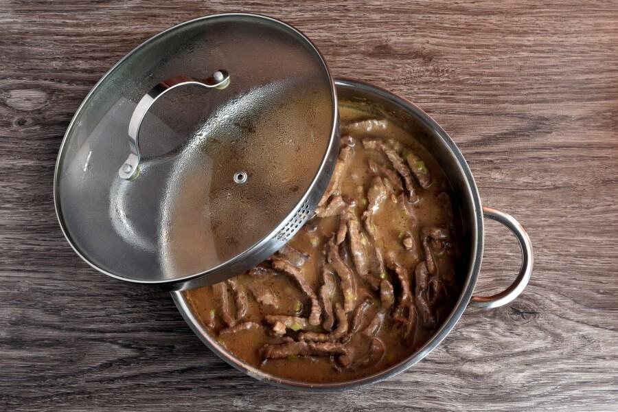 Beef Stroganoff recipe - step 7