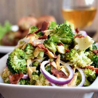 Bodacious Broccoli Salad Recipe-How To Make Bodacious Broccoli Salad -Homemade Bodacious Broccoli Salad