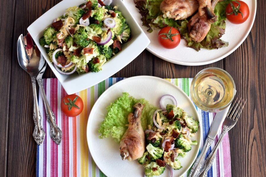 How to serve Bodacious Broccoli Salad