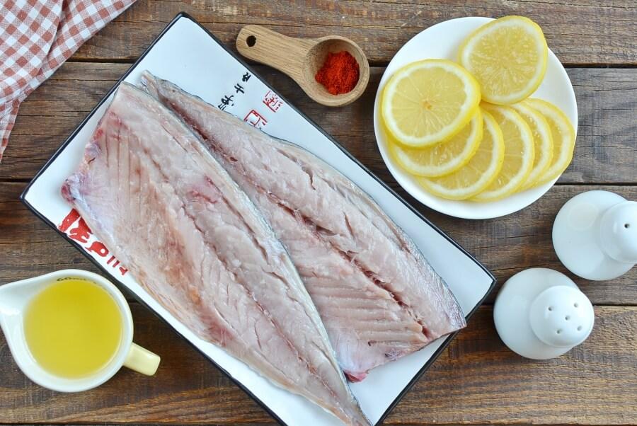 Ingridiens for Keto Broiled Spanish Mackerel