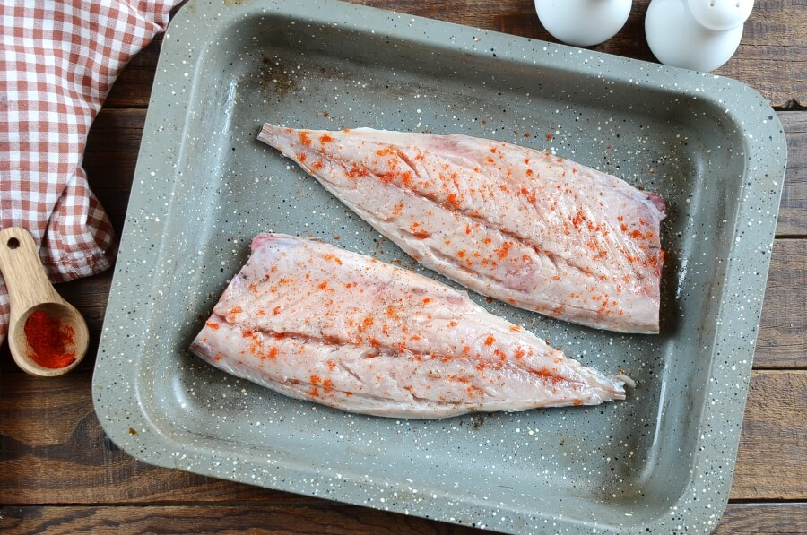 Keto Broiled Spanish Mackerel recipe - step 4