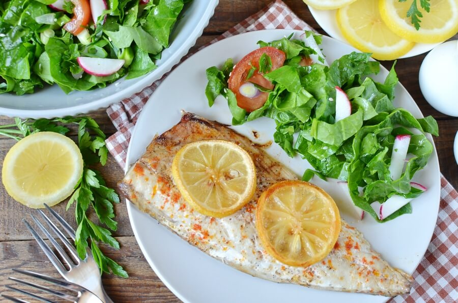 How to serve Keto Broiled Spanish Mackerel