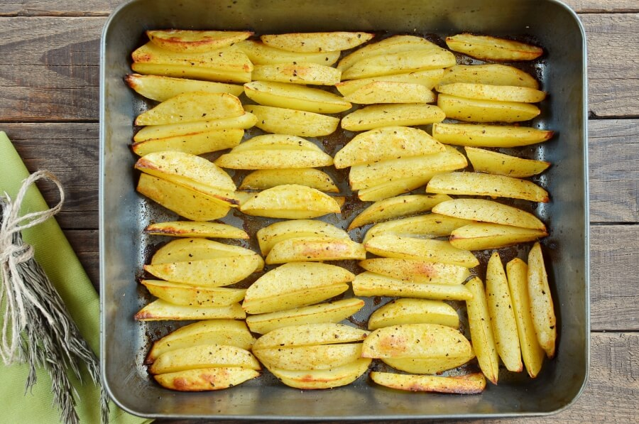 Cajun Baked French Fries recipe - step 5