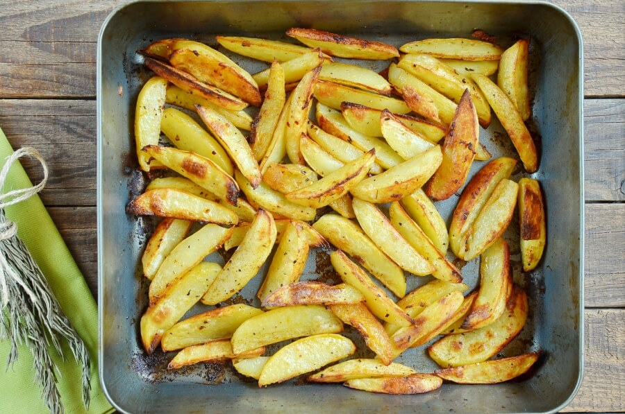 Cajun Baked French Fries recipe - step 6