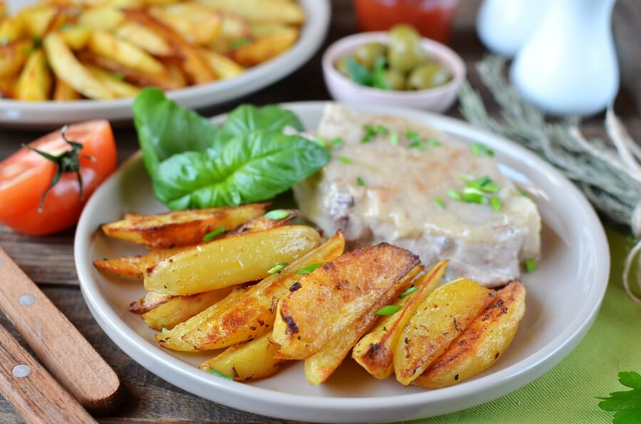 How to serve Cajun Baked French Fries