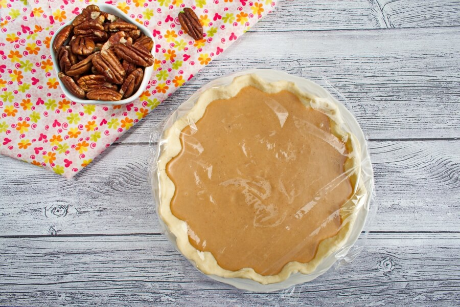 Caramel Turtle Pie recipe - step 5
