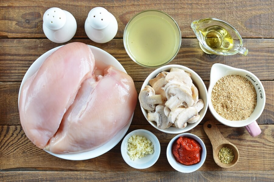 Ingridiens for Easy One Pot Chicken