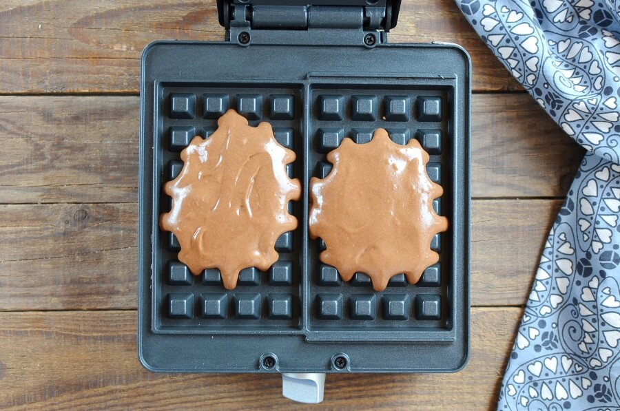 Chocolate Waffle Cookies recipe - step 6