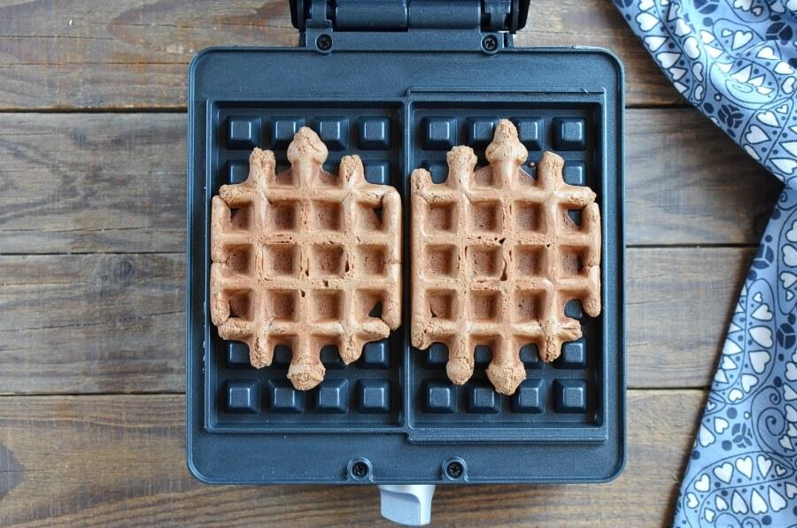 Chocolate Waffle Cookies recipe - step 7