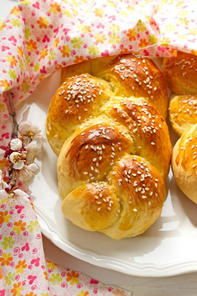 It tastes delicious and looks amazing with its beautiful braided appearance!