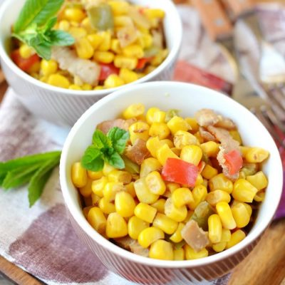 Corn O'Brien Recipe-How To Make Corn O'Brien Recipe-Delicious Corn O'Brien