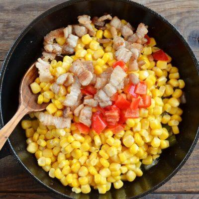 Famous Corn O'Brien recipe - step 3