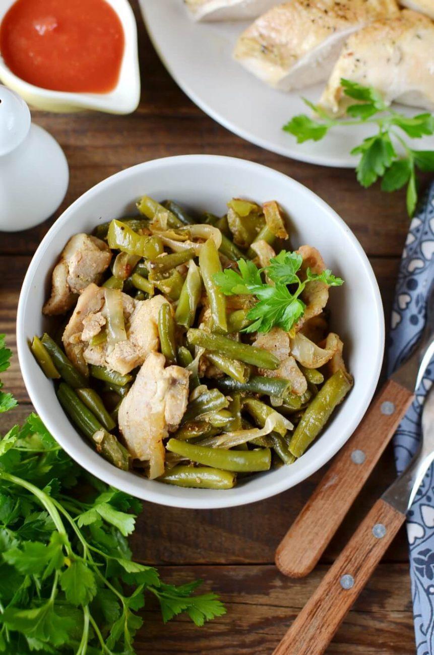 Keto Creole Green Beans