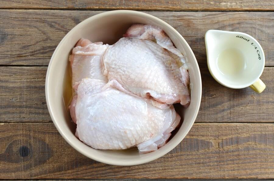 Keto Crispy Baked Chicken Thighs recipe - step 4