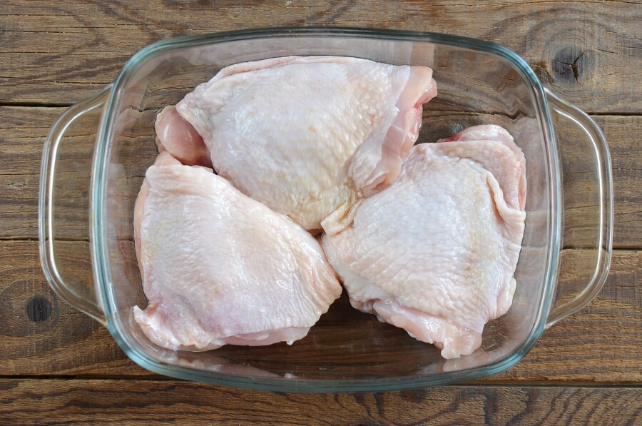 Keto Crispy Baked Chicken Thighs recipe - step 6