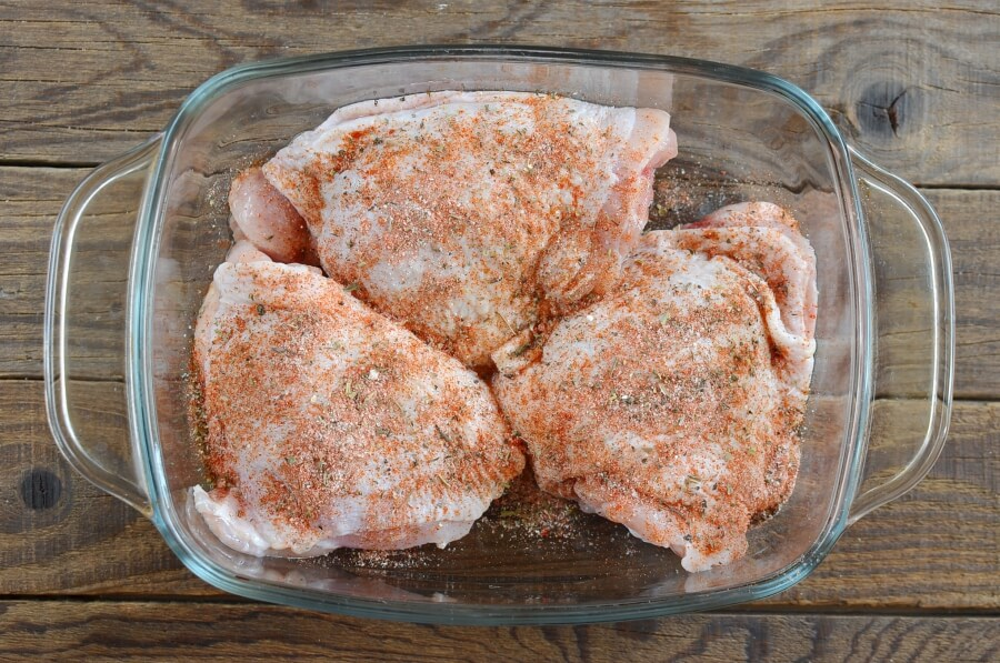 Keto Crispy Baked Chicken Thighs recipe - step 7