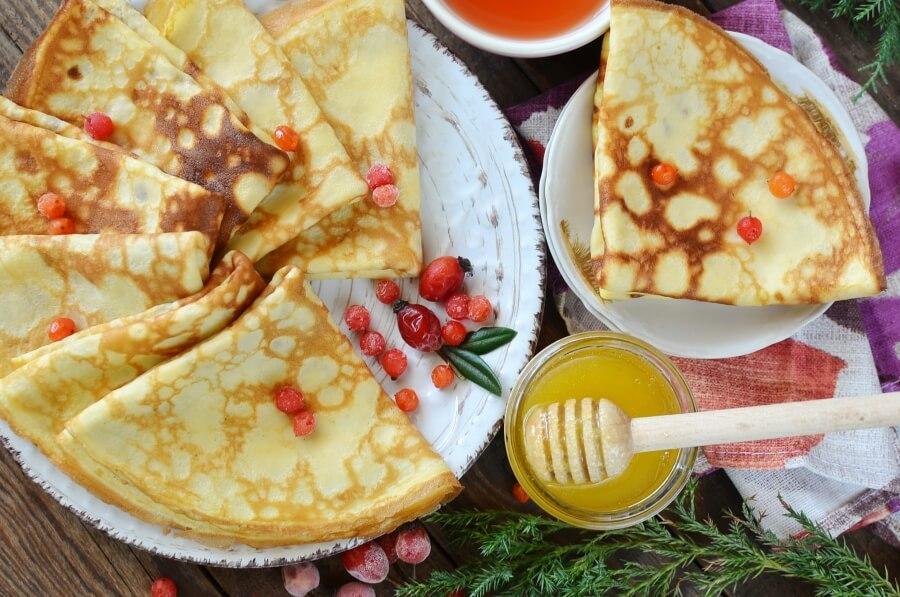 How to serve Easy Swedish Pancake