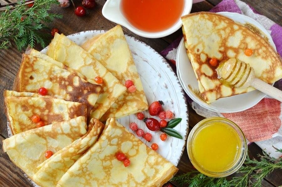 Easy Swedish Pancake Recipe-How To Make Easy Swedish Pancake Recipe-Delicious Easy Swedish Pancakes