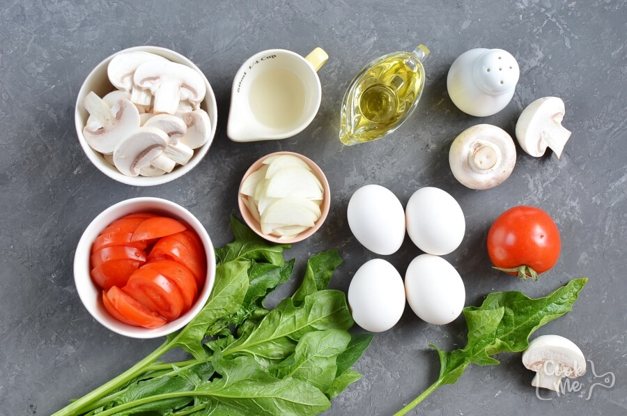 Ingridiens for Fabulous Spinach Salad