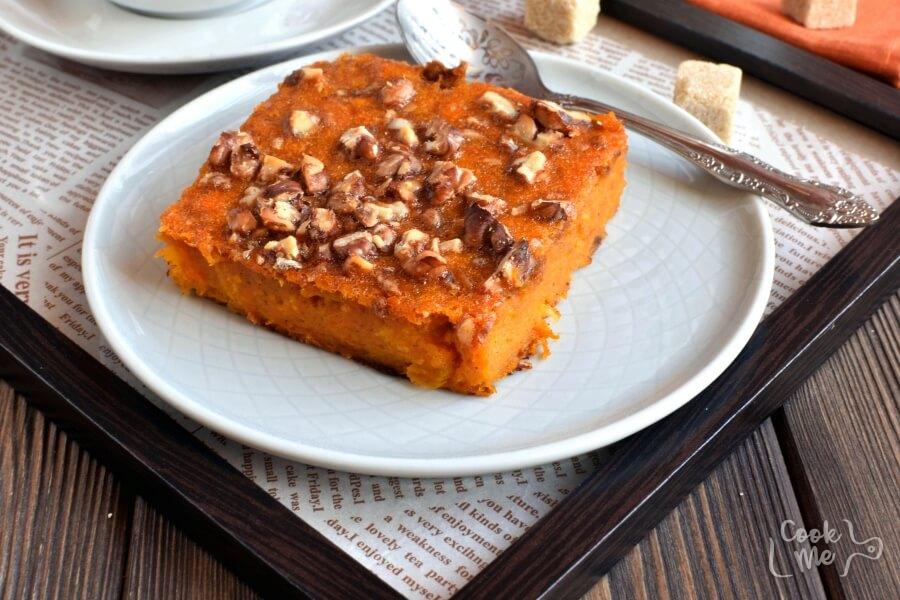How to serve Gluten Free Crustless Pumpkin Pie