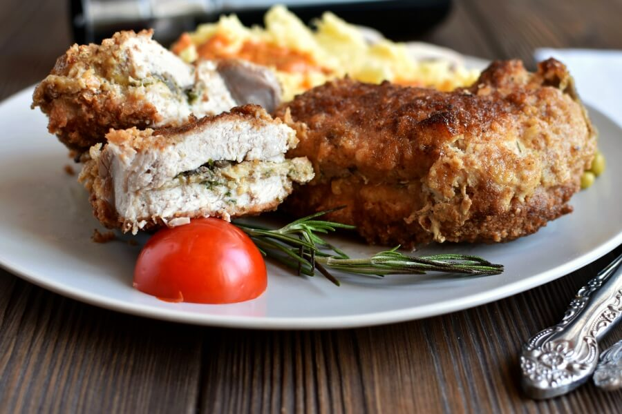 How to serve Gourmet Stuffed Pork Chops