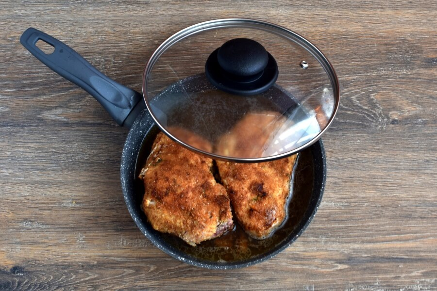 Gourmet Stuffed Pork Chops recipe - step 8
