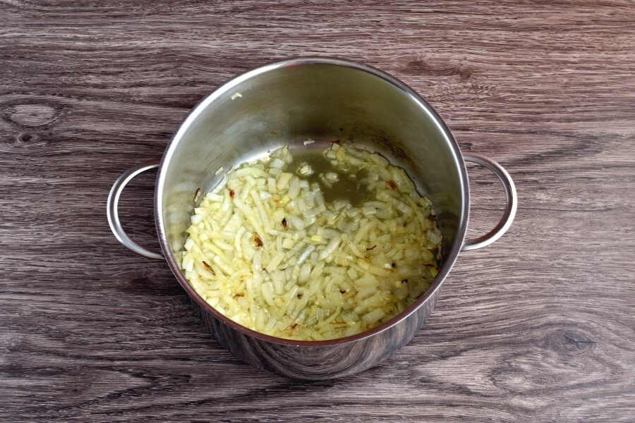 Ham and Mushroom Barley Soup recipe - step 2