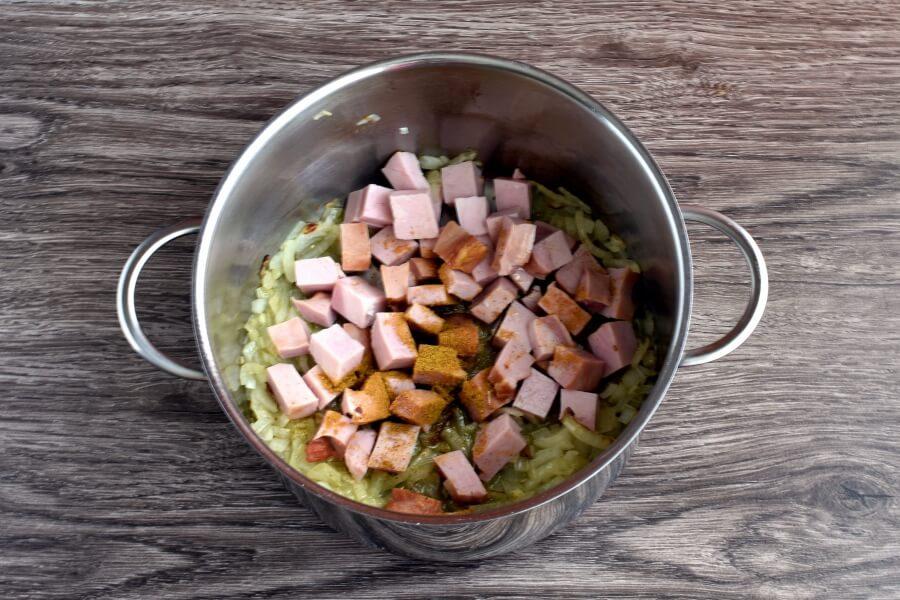 Ham and Mushroom Barley Soup recipe - step 3