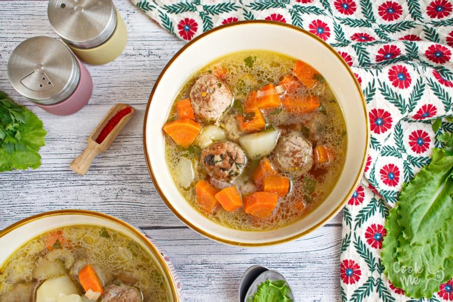 How to serve Homemade Albondigas Soup