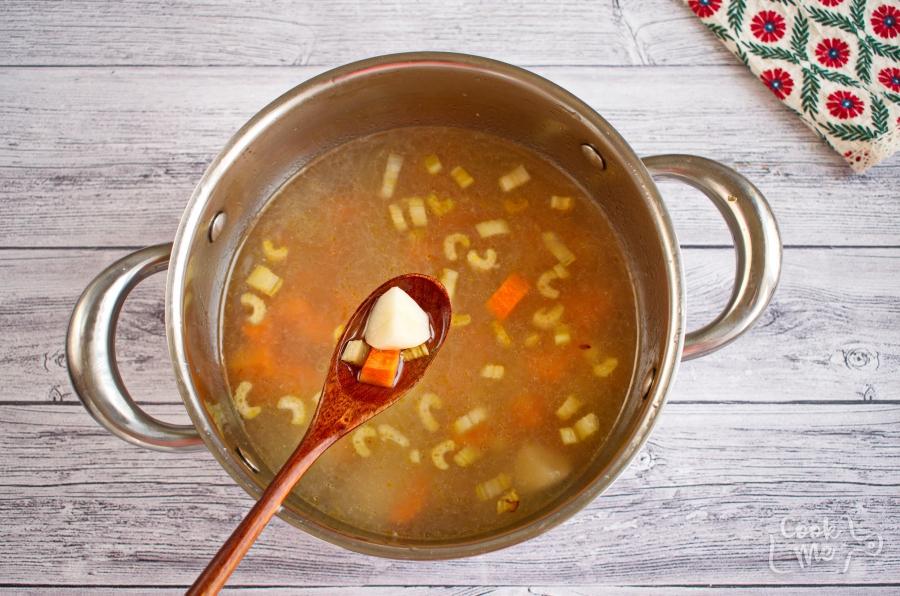 Homemade Albondigas Soup recipe - step 6