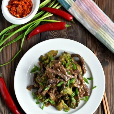 Hot and Tangy Broccoli Beef Recipe-Homemade Hot and Tangy Broccoli Beef-How To Make Hot and Tangy Broccoli Beef