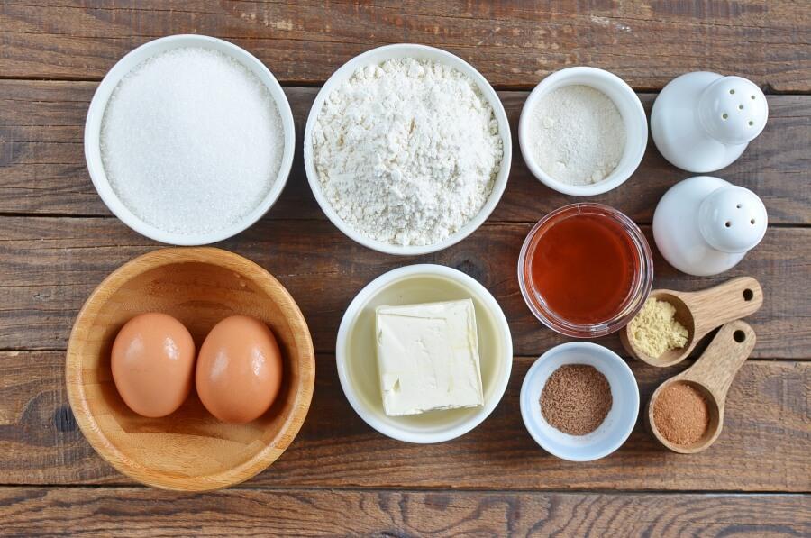Ingridiens for Delicious Icelandic Pepper Cookies