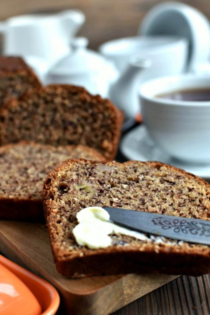 The perfect soft and rich with banana teatime treat