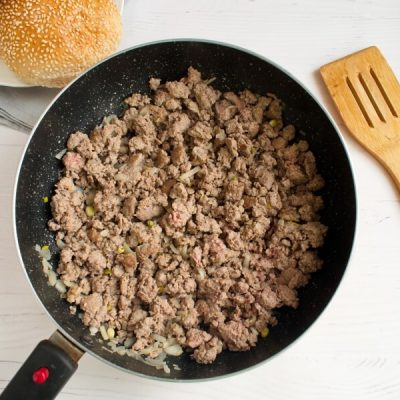Loose Meat on a Bun, Restaurant Style recipe - step 3