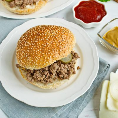 Loose Meat on a Bun, Restaurant Style-Loose Meat Sandwiches-How to make Loose Meat Sandwiches