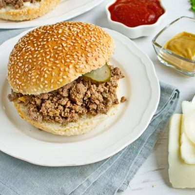 How to serve Loose Meat on a Bun, Restaurant Style