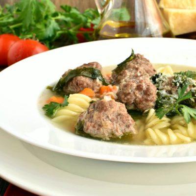 Mama's Italian Wedding Soup-Homemade Mama's Italian Wedding Soup-Delisious Mama's Italian Wedding Soup