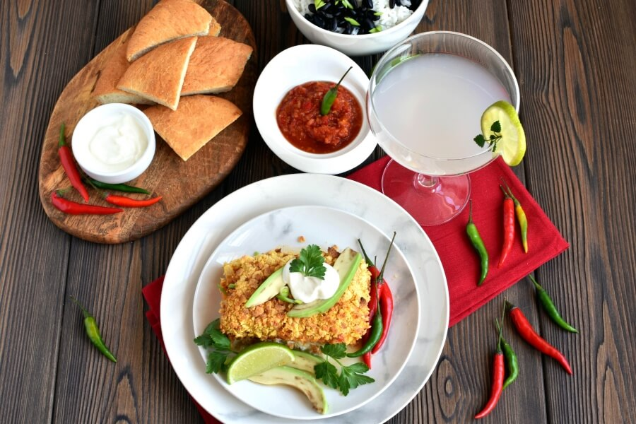 How to serve Mexican Baked Fish