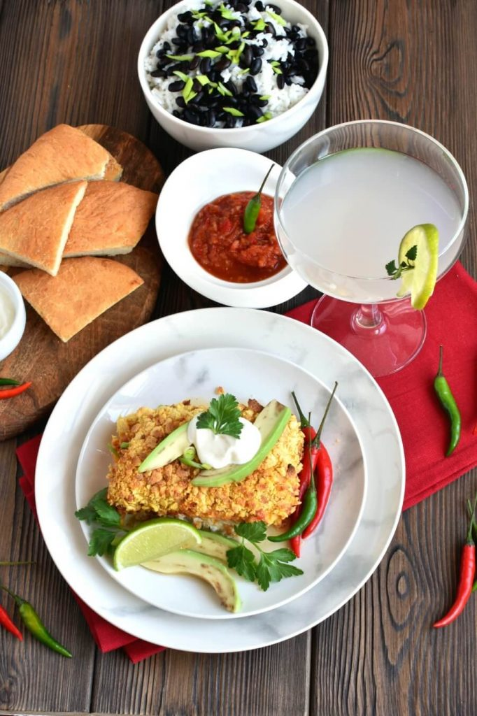 Mexican Baked Fish Recipe-How To Make Mexican Baked Fish-Easy Mexican Baked Fish