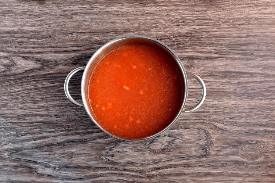 Mexican Chicken Meatball Soup (Sopa de Albondigas de Pollo) recipe - step 3