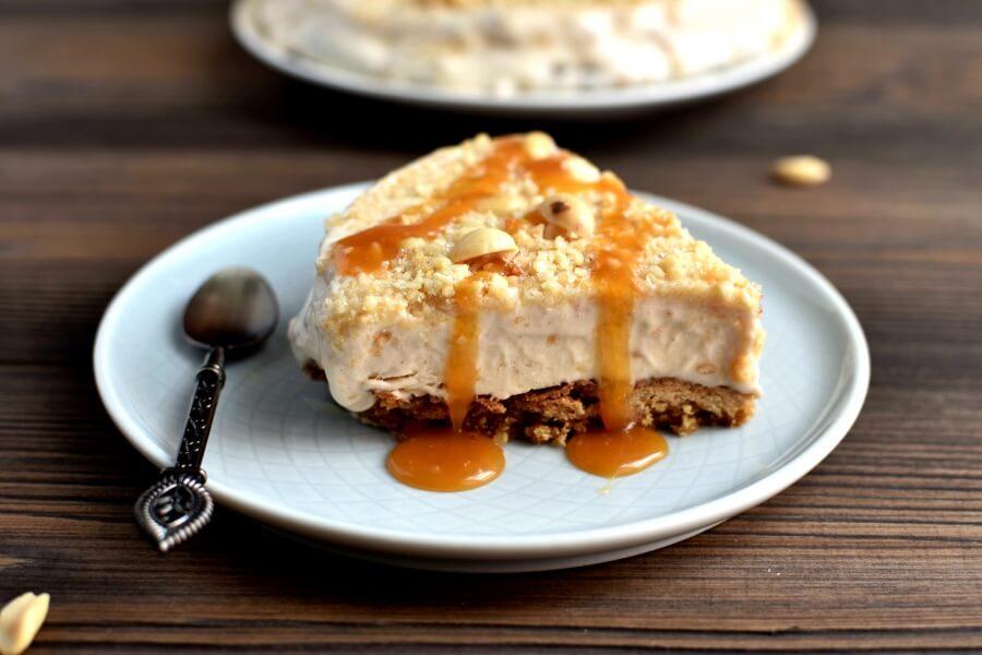 Peanut Butter Ice Cream Pie Recipe-Easy Peanut Butter Ice Cream Pie-How To Make Peanut Butter Ice Cream Pie
