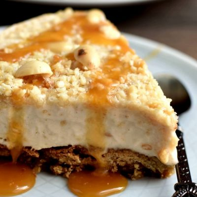 Peanut Butter Ice Cream Pie Recipe-Easy Peanut Butter Ice Cream Pie-How To Make Peanut Butter Ice Cream Pie