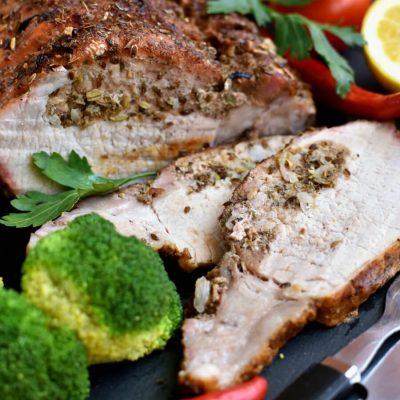 Porketta Roast Recipe-How To Make Porketta Roast-Porchetta Pork Roast Recipe