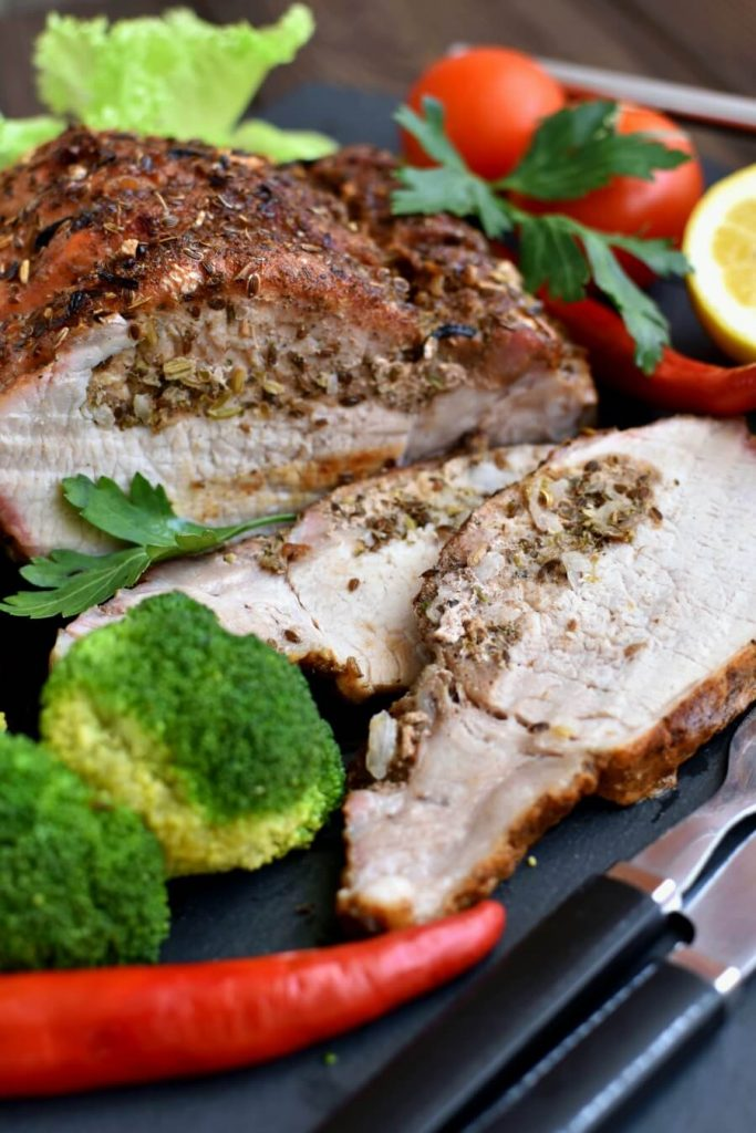 Delicious way to cook a joint of pork
